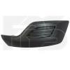 Решетка в бампер (правая, заглушка п/тум., матовая) для Ford Transit Custom 2012-2017 (Avtm, 2823912)