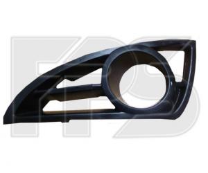 Решетка в бампер (правая, с отв. п/тум.) для Geely MK/MK Cross 2006-2011 (Avtm, 2901 912-P)