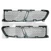 Решетка в бампер (лев./прав., 2шт.) для Hyundai H-1/Н200 1997-2005 (Avtm, 3211990)