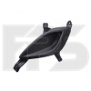 Решетка в бампер (правая, заглушка п/тум.) для Hyundai Accent 2011-2014 (Avtm, 3228912)