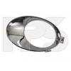 Решетка в бампер (правая, окантовка ПТФ) для Nissan Qashqai/Qashqai+2 2010-2014 (Avtm, 5015914)