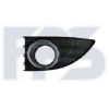 Решетка в бампер (левая, с хромом) для Renault Fluence 2010-2013 (Avtm, 5628911)