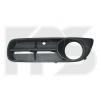 Решетка в бампер (правая, с отв. п/тум., кроме RS) для Skoda Fabia/Roomster 2007-2010 (Avtm, 6408912)