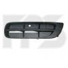 Решетка в бампер (правая, без отв. п/тум., кроме RS) для Skoda Fabia/Roomster 2007-2010 (Avtm, 6408914)