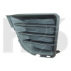 Решетка в бампер (правая, без отв. п/тум., под молдинг) для Toyota Corolla 2013-2016 (Avtm, 7037914)
