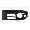 Решетка в бампер (правая с отв. п/тум.) для Volkswagen Polo (IV) Hb 2002-2005 (Avtm, 7401992)
