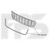 Решетка в бампер (средняя, с хром молдингом, под бампер тип Touran) для Volkswagen  Caddy/Touran 2010-2015 (Avtm, 7422910)