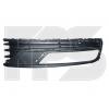 Решетка в бампер (правая, без молдингов) для Volkswagen Passat (B7) 2011-2015 (Avtm, 7423814)