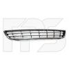 Решетка в бампер (средняя, хром молдинг) для Volkswagen Jetta VI 2011-2014 (Avtm, 7430916)
