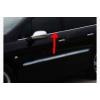 Хром окантовка стекол (низ., нерж., 4 шт.) для Peugeot 407 2004-2011 (Carmos, car0383)