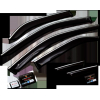 Дефлекторы окон (с хром молдингом) для Infiniti FX-Series II (S51) 2008+ (Cobra, I10408CR)