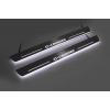 Накладки на пороги (Static, с Led подсветкой) для Citroen C-Crosser 2007-2012 (OPdesign, DHLS-STA-CIT-C-CR-W)