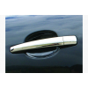 Накладки на дверные ручки (нерж., 4 шт.) для Citroen Berlingo 2008-2018 (Carmos, car2018)