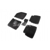 Коврики 3D в салон (ворс., 5 шт.) для Chevrolet Aveo 2003-2011 (Seintex, 71682)