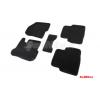 Коврики 3D в салон (ворс., 5 шт.) для Kia Sportage/Hyundai ix35 2010-2015 (Seintex, 82158)