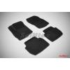 Коврики 3D в салон (ворс., 5 шт.) для Mitsubishi Outlander XL/Peugeot 4007/Citroen C-Crosser 2007-2012 (Seintex, 82161)