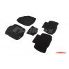 Коврики 3D в салон (ворс., 5 шт.) для Toyota Rav4 2012+ (Seintex, 84005)