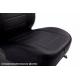 Чехлы в салон (Эко-кожа, черные) для Ford Focus II/Kuga (Ghia/Titanium) 2005-2013 (Seintex, 85348)