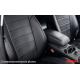 Чехлы в салон (Эко-кожа, черные) для Nissan X-Trail (T31) 2007-2014 (Seintex, 85440)