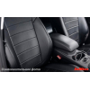Чехлы в салон (Эко-кожа, без заднего подл.) для Toyota Corolla 2012+ (Seintex, 85477)