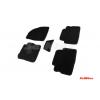 Коврики 3D в салон (ворс., 5 шт.) для Ford Kuga 2013-2016 (Seintex, 85796)