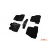 Коврики 3D в салон (ворс., 5 шт.) для Ford Focus III 2011-2015 (Seintex, 85867)