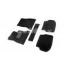 Коврики 3D в салон (ворс., 5 шт.) для Bmw 5-series (F10) 2010-2013 (Seintex, 86312)