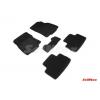 Коврики 3D в салон (ворс., 5 шт.) для Nissan Qashqai II 2013+ (Seintex, 87228)