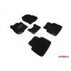 Коврики 3D в салон (ворс., 5 шт.) для Honda Cr-v 2016+ (Seintex, 89230)