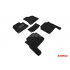 Коврики 3D в салон (ворс., 5 шт.) для Hyundai Santa Fe 2010-2012 (Seintex, 89338)