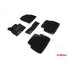 Коврики 3D в салон (ворс., 5 шт.) для Mazda Cx-5 2017+ (Seintex, 89339)