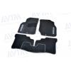 Коврики в салон (к-кт. 5 шт.) для Nissan Almera Classic (B10) 2006-2012 (Avtm, BLCCR1407)
