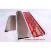 Накладки на пороги (Elite) для Mitsubishi Galant IX 2003-2012 (Nata-Niko, PE-MI04)