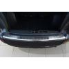 Накладка на задний бампер (полированная) для Mitsubishi Outlander/Citroen C-Crosser/Peugeot 4007 2007-2012 (Avisa, 35015)