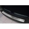 Накладка на задний бампер (полированная) для Dacia Duster 2010-2017 (Avisa, 35017)