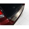 Накладка на задний бампер (полированная) для Subaru Outback IV 2009-2014 (Avisa, 35037)