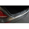 Накладка на задний бампер (полированная) для Mercedes-Benz E-Class (W213) Limousine 2016+ (Avisa, 35078)