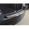 Накладка на задний бампер для Peugeot 4007 2007-2013 (Nata-Niko, B-PE12)
