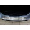 Накладка на задний бампер (полированная) для Dacia Logan Mcv 2013+ (Avisa, 35140)