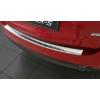 Накладка на задний бампер (полированная) для Mazda Cx-5 II 2017+ (Avisa, 35156)