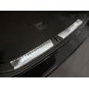 Накладка на задний бампер (полированная) для Volkswagen Passat (B8) Variant/Alltrack 2014+ (Avisa, 35192)