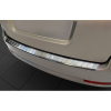 Накладка на задний бампер (полированная) для Skoda Octavia II Combi 2009-2013 (Avisa, 35242)