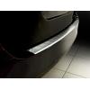Накладка на задний бампер (полированная) для Skoda Superb combi 2009-2013 (Avisa, 35243)