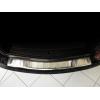 Накладка на задний бампер (полированная) для Opel Astra IV sports tourer 2010-2012 (Avisa, 35309)