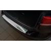 Накладка на задний бампер (полированная) для Volkswagen Passat (B8) variant/alltrack 2014+ (Avisa, 35458)