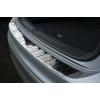 Накладка на задний бампер (полированная) для Volkswagen Tiguan II / Tiguan Allspace 2015+ (Avisa, 35459)