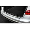 Накладка на задний бампер (полированная) для Audi A6 (C7, 4G) Avant 2011-2018 (Avisa, 35497)