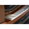 Накладка на задний бампер (полированная) для Range Rover Evoque 5d Fl 2011+ (Avisa, 35570)