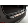 Накладка на задний бампер (полированная) для Hyundai Santa Fe 2011-2012 (Avisa, 35626)