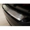 Накладка на задний бампер (полированная) для Renault Clio IV grandtour/Fluence Sd 2012+ (Avisa, 35705)